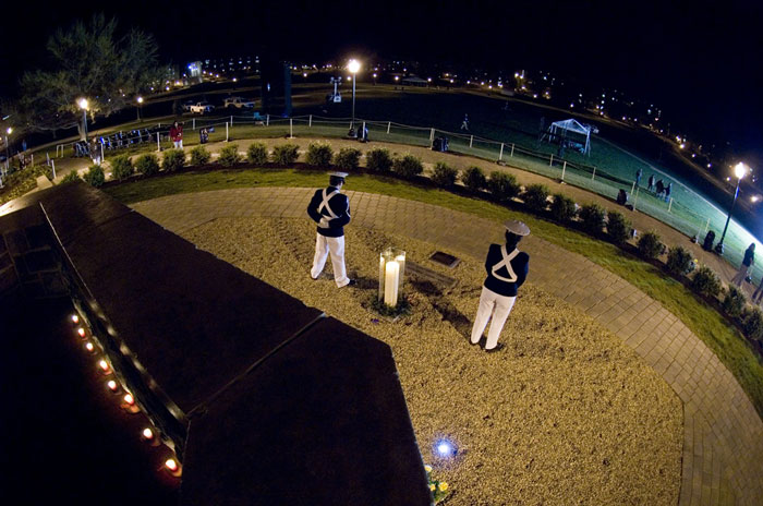 Corps of Cadets Vigil at the April 16 Memorial